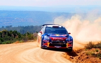 Citroen DS3 WRC wallpaper 1920x1200 jpg