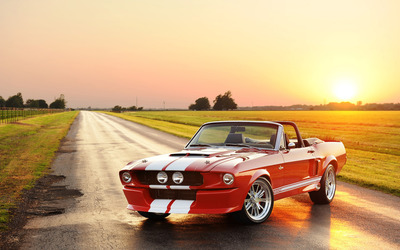 Classic Recreations Shelby GT500 CR Convertible wallpaper