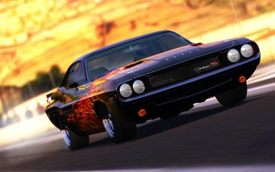 Dodge Challenger RT wallpaper