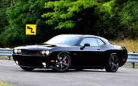 Dodge Challenger SRT on the road wallpaper 1920x1200 jpg
