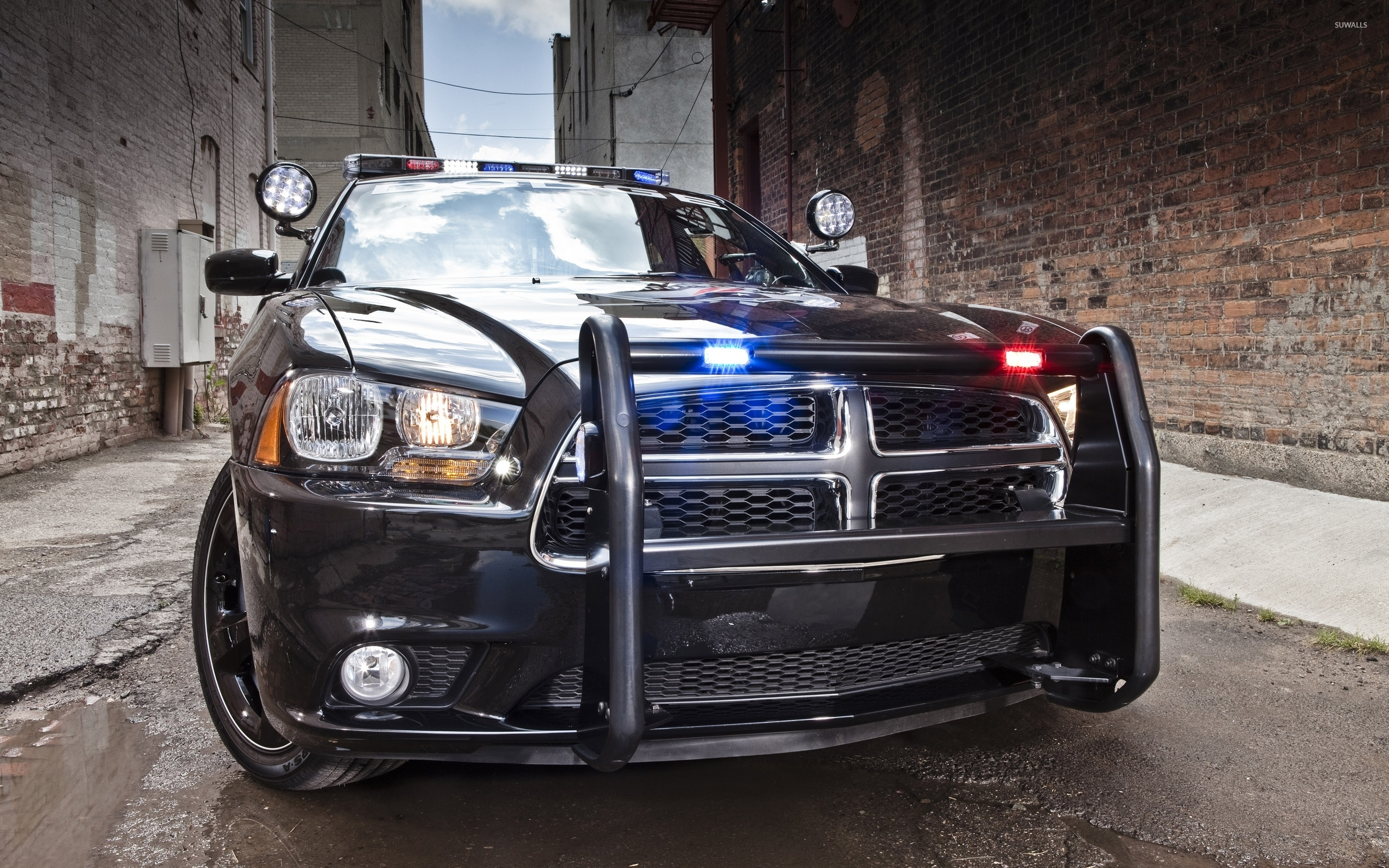 Dodge Charger Police Car 2 Wallpaper Car Wallpapers