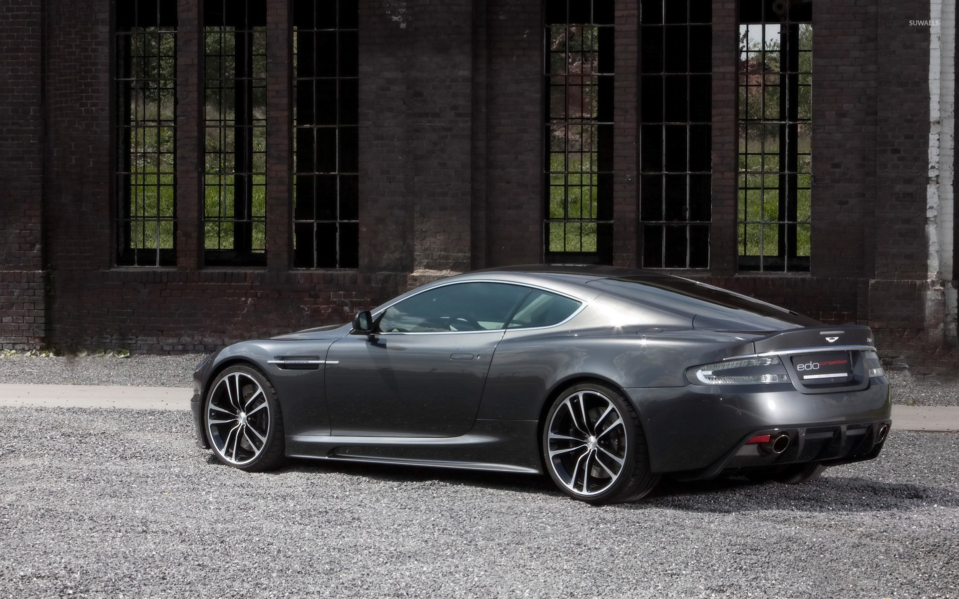 Aston Martin DB Carbon Black Edition Front HD Wallpaper