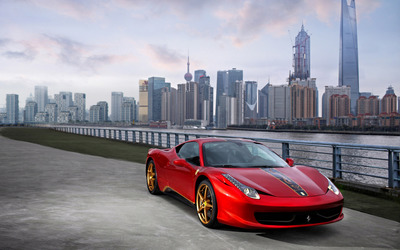 Ferrari 458 Italia China Special Edition wallpaper