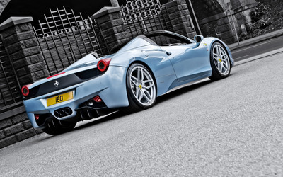 Ferrari 458 Spider [3] wallpaper