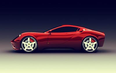 Ferrari Dino Concept [2] wallpaper