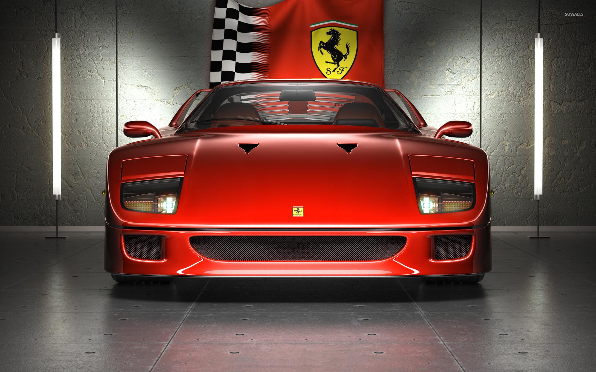 Ferrari F40 2 Wallpaper Car Wallpapers 45849