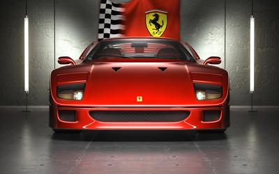 Ferrari F40 [2] wallpaper , Car wallpapers , 45849