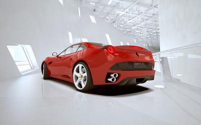 Ferrari GRF F concept wallpaper