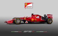 Ferrari SF15-T wallpaper 3840x2160 jpg