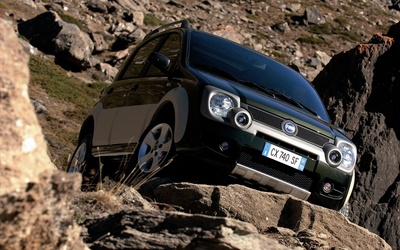 Fiat Panda Cross wallpaper