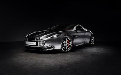 Fisker Thunderbolt Aston Martin Vanquish wallpaper
