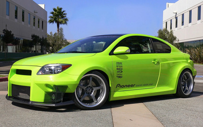 Five Axis Scion tC wallpaper