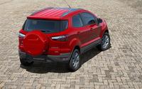 Ford EcoSport Titanium back view wallpaper 2880x1800 jpg