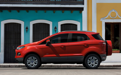 Ford EcoSport Titanium side view wallpaper