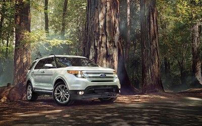 Ford Explorer wallpaper