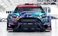 Ford Fiesta RS WRC front view wallpaper 1920x1200 jpg