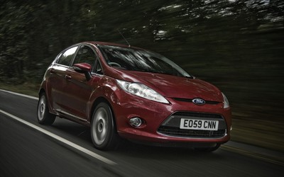 Ford Fiesta Titanium wallpaper