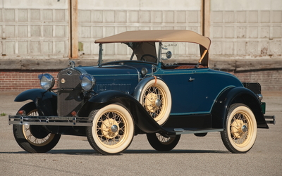 Ford Model A Deluxe Roaster wallpaper