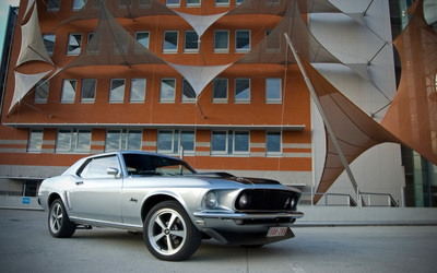 Ford Mustang [16] Wallpaper