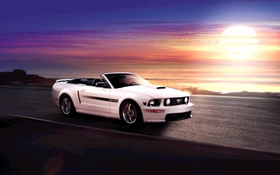 Ford Mustang - GT California Special wallpaper