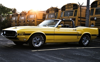 Ford Mustang GT350 wallpaper