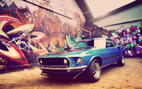 Ford Mustang Mach 1 wallpaper 1920x1200 jpg
