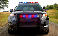 Ford Police Interceptor Sedan wallpaper 1920x1200 jpg