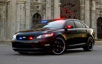 Ford Taurus police car wallpaper 1920x1200 jpg