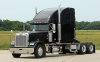 Freightliner black truck wallpaper 1920x1200 jpg