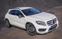 Front side view 2014 Carlsson Mercedes-Benz GLA-Class wallpaper 2560x1600 jpg