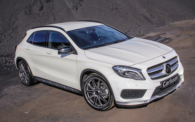Front side view 2014 Carlsson Mercedes-Benz GLA-Class wallpaper