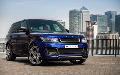 Front side view A Kahn Design Land Rover Range Rover 600LE wallpaper