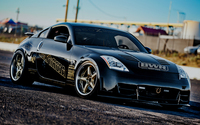 Front side view of a Nissan 350Z wallpaper 1920x1080 jpg