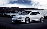 Front side view of a Volkswagen Scirocco wallpaper 1920x1200 jpg
