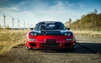 Front view of a Dorimuro's Garage Mazda RX-7 wallpaper 1920x1200 jpg