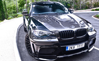 Front view of a Hamann BMW X6 wallpaper 1920x1080 jpg