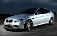 Front view of a IND BMW M3 wallpaper 1920x1080 jpg