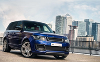 Front view of A Kahn Design Land Rover Range Rover 600LE wallpaper 1920x1200 jpg