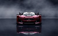 Front view of a red Citroen GT wallpaper 2560x1600 jpg