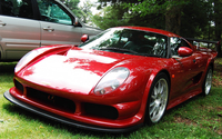 Front view of a red Noble M400 wallpaper 1920x1200 jpg