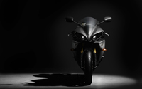 Front view of a Yamaha YZF-R1 wallpaper 2560x1600 jpg