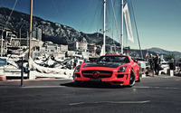 Hamann Mercedes-Benz SLS AMG wallpaper 1920x1200 jpg