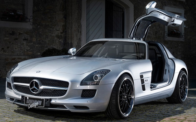INDEN-Design Mercedes-Benz SLS AMG wallpaper