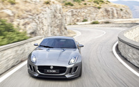Jaguar C-X16 on the road wallpaper 2560x1440 jpg