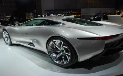 Jaguar C-X75 wallpaper