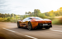 Jaguar C-X75 back side view wallpaper 2560x1600 jpg