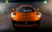 Jaguar C-X75 front view wallpaper 2560x1600 jpg