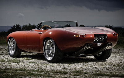 Jaguar E-Type XK-E Roadster [2] wallpaper