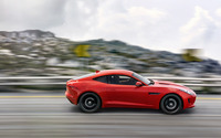 Jaguar F-Type Coupe [5] wallpaper 1920x1080 jpg