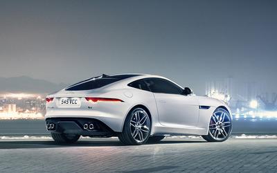Jaguar F-Type Coupe wallpaper